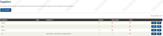 Supplier-List-screenshot
